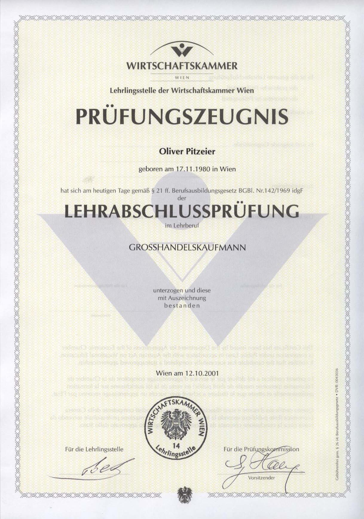 Personal information oliver falk 2008 itil foundation certificate 2008 scrummaster certificate 2013 red hat certified systems administrator rhcsa verify certification status xflitez Gallery